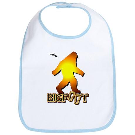 Bigfoot in Orange Bib