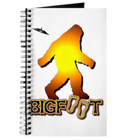 Bigfoot in Orange Journal