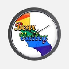 Bear Valley Wall Clock