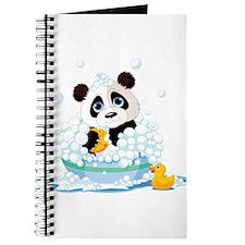 Panda in Bubbles Journal