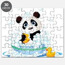 Panda in Bubbles Puzzle