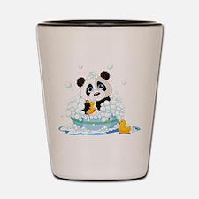 Panda in Bubbles Shot Glass