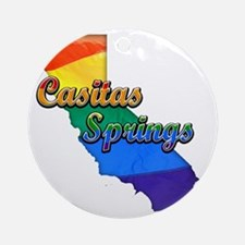 Casitas Springs Round Ornament