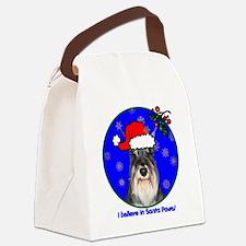 schnauzerxmas-shirt Canvas Lunch Bag