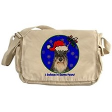 schnauzerxmas-shirt Messenger Bag
