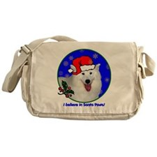 samoyedxmas-shirt Messenger Bag