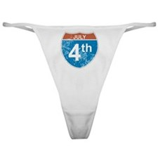July 4th Hwy Classic Thong