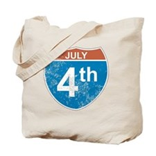 July 4th Hwy Tote Bag