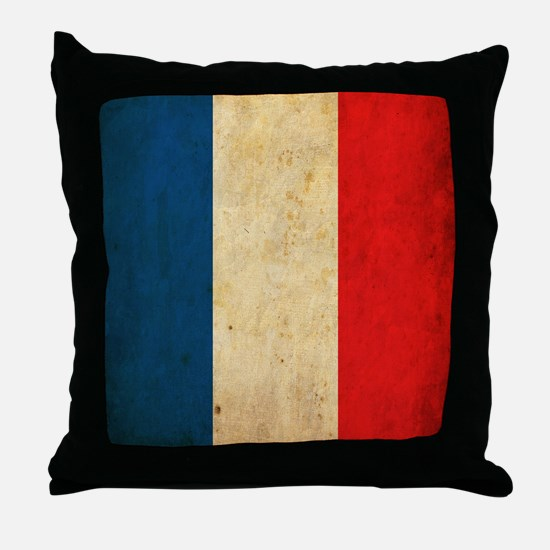 VintageFrance6sc Throw Pillow