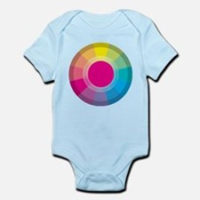 Colour Wheel magneta Body Suit