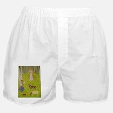 WoodMaidenBear Boxer Shorts