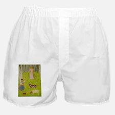 WoodMaidenJournal Boxer Shorts