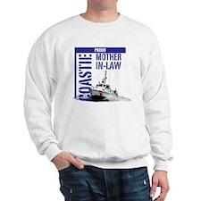 USCG Boat Mom-in-Law Sweatshirt
