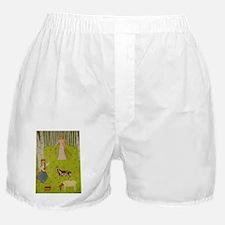 WoodMaidenDog Boxer Shorts
