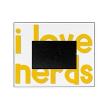 yellow_i_love_nerds Picture Frame