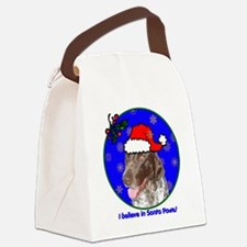 pointerxmas-shirt Canvas Lunch Bag