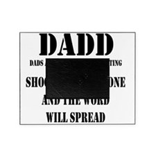 1 DADD Words Black Picture Frame