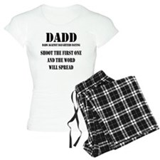 1 DADD Words Black Pajamas
