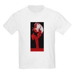 bleeding skull Kids T-Shirt