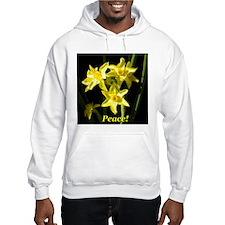 Peace Daffodils Hoodie