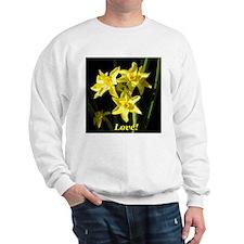 Love Daffodils Sweatshirt