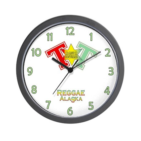 Tasha T Wall Clock