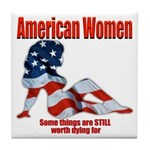 American Women Tile Coaster