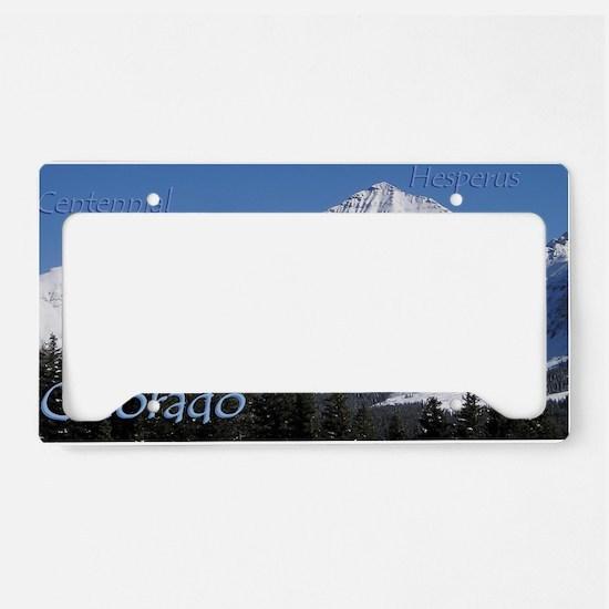 h5x License Plate Holder