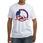 Make Mine American Patriotic Fitted T-Shirt