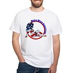 Make Mine American Patriotic White T-Shirt