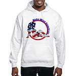 Make Mine American Patriotic Hooded Sweatshirt