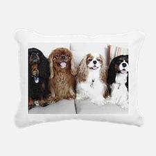 4cavswhite Rectangular Canvas Pillow