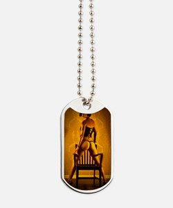 In The Time Out Chair Dog Tags