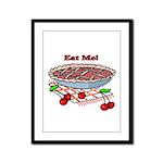 Eat Me Framed Panel Print