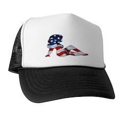 American Woman Trucker Hat