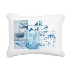DVBlue Rectangular Canvas Pillow