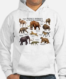 Extinct Animals of North America Hoodie