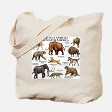 Extinct Animals of North America Tote Bag