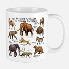 Extinct Animals of North America Mug