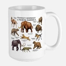 Extinct Animals of North America Mug