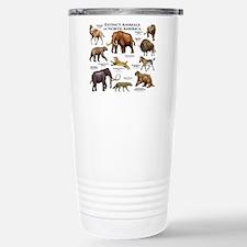 Extinct Animals of North America Travel Mug