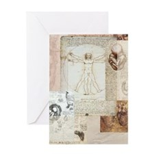 DVVitruvian Greeting Card