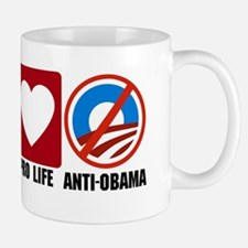 Pro God Pro Gun Anti Obama cp Mug