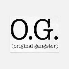 original_gangster 5'x7'Area Rug