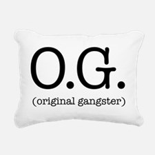 original_gangster Rectangular Canvas Pillow