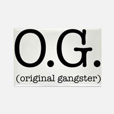 original_gangster Rectangle Magnet