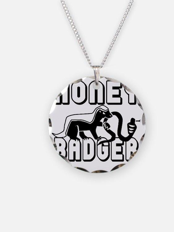 Honey Badger New_BLACK Necklace