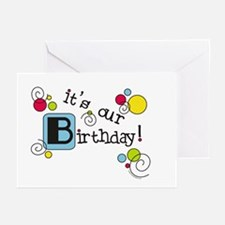 It's Our Birthday - Invitations (Pk of 10)