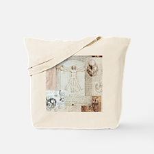 VitruvianShowerCurtain Tote Bag