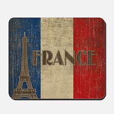 france_fl_Vintage1 Mousepad
